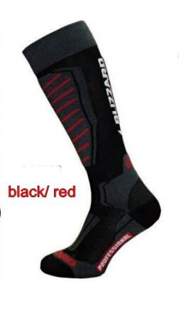 Blizzard Skarpety  narciarskie Professional black/red