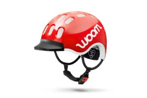 Kask woom red