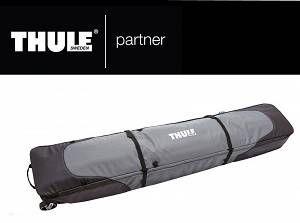 Thule RoundTrip Double Snowboard Roller szara