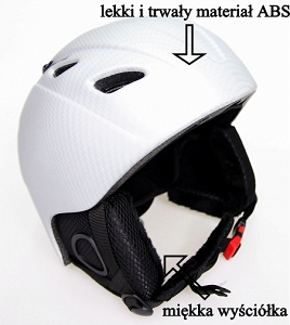 Blizzard Kask Phoenix air silver carbon